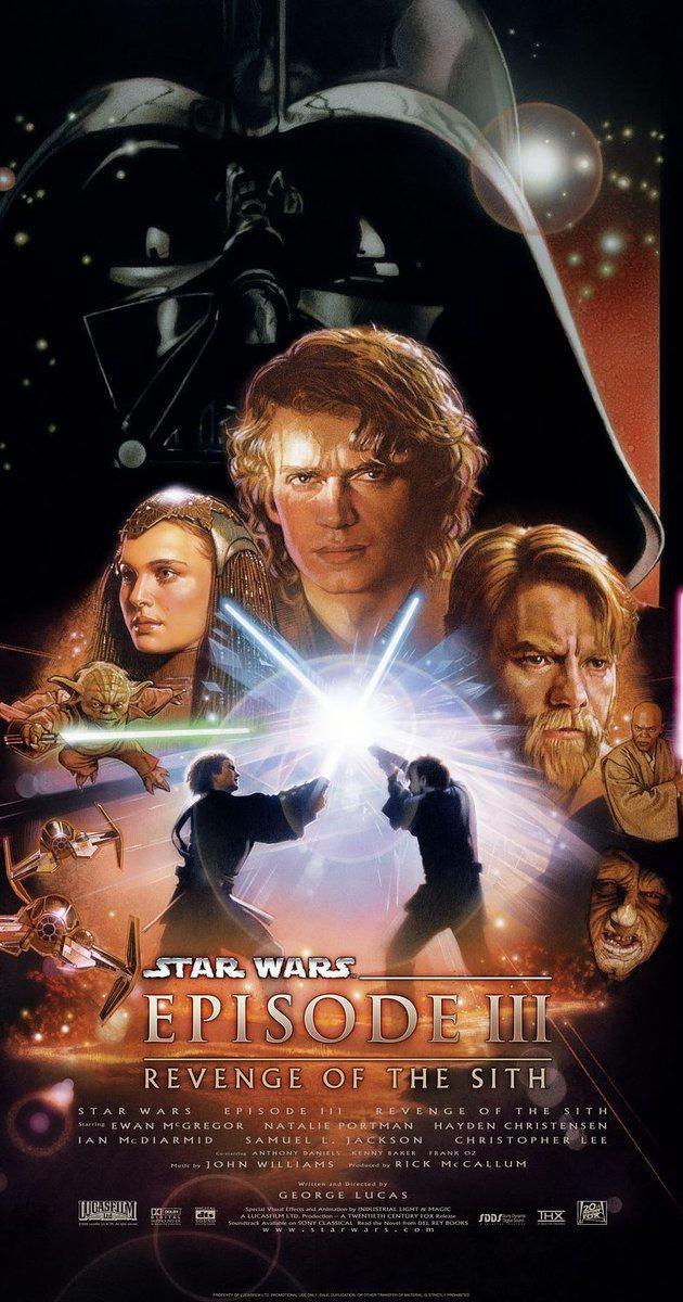 Star Wars: Episode III – Revenge of the Sith (2005): ซิธชำระแค้น